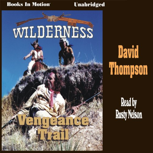 The Vengeance Trail audiobook cover art
