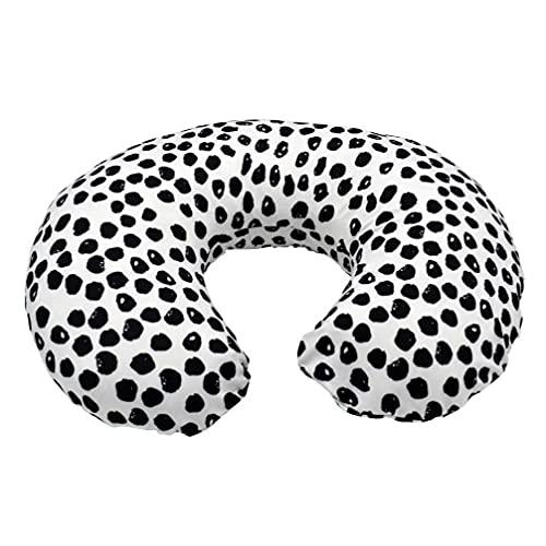 Obelunrp Cubierta de Almohada de enfermería bebé Transpirable Caja de cojín de Forma de U con Cremallera Oculta 1 Herramienta de Bricolaje Potable