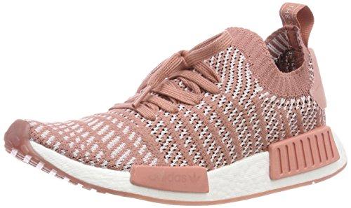 adidas Damen NMD_R1 STLT Primeknit Fitnessschuhe, Pink (Roscen/Tinorc/Ftwbla 000), 41 1/3 EU