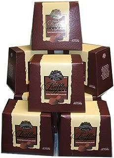 Chocmod Truffettes de France Natural Truffles, Plain, 1000-Gram Boxes (Pack of 10)