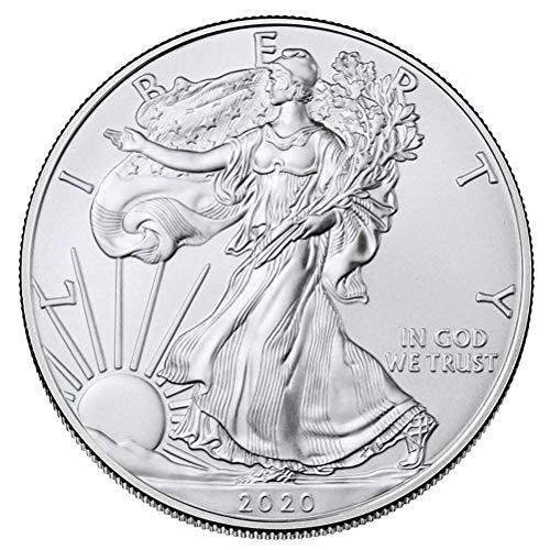 Monedas conmemorativas Poxcap 2020 Moneda de regalo de viaje de aleación de titanio Juego de desafío anual Royal Mint Art Craft