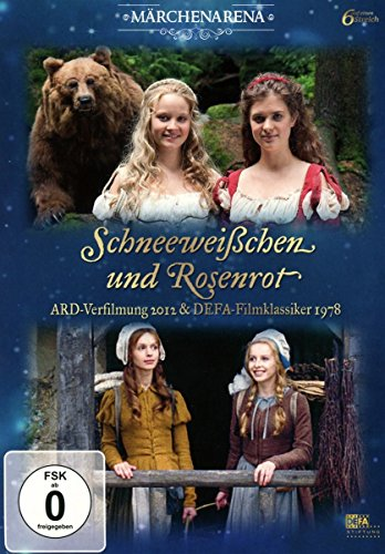 Schneeweißchen und Rosenrot - Doppeledition (ARD-Verfilmung 2012 & DEFA-Klassiker 1978) (2 DVDs)