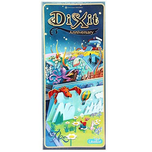 Asmodee Dixit 9 - Anniversary, Erweiterung, Kartenspiel, Familienspiel, Deutsch