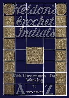 Weldon's Crochet Initials c.1920