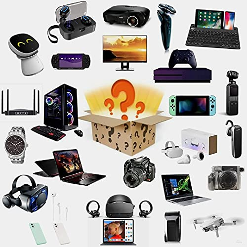 GDICONIC Scatola cieca Mystery Box,Mystery Box Electronics,Mystery Boxes Random,Birthday Surprise Box,Interesting And Exciting Lucky Box Such As Drones,Smart Watches,Gamepads And More