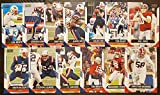 2021 Panini Score Football New England Patriots Team Set 13 Cards W/Drafted Rookie Includes Tom Brady. rookie card picture
