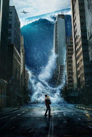 Import Posters GEOSTORM – Gerard Butler – U.S Textless Movie Wall Poster Print - 30CM X 43CM