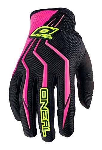 O\'Neal Element Damen Handschuhe Pink Schwarz MX MTB DH Motocross Enduro Offroad Quad BMX FR, 0390-7, Größe XL