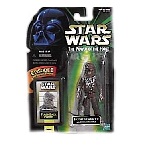 Star Wars Figura de acción Power of The Force Flashback Hoth Chewbacca