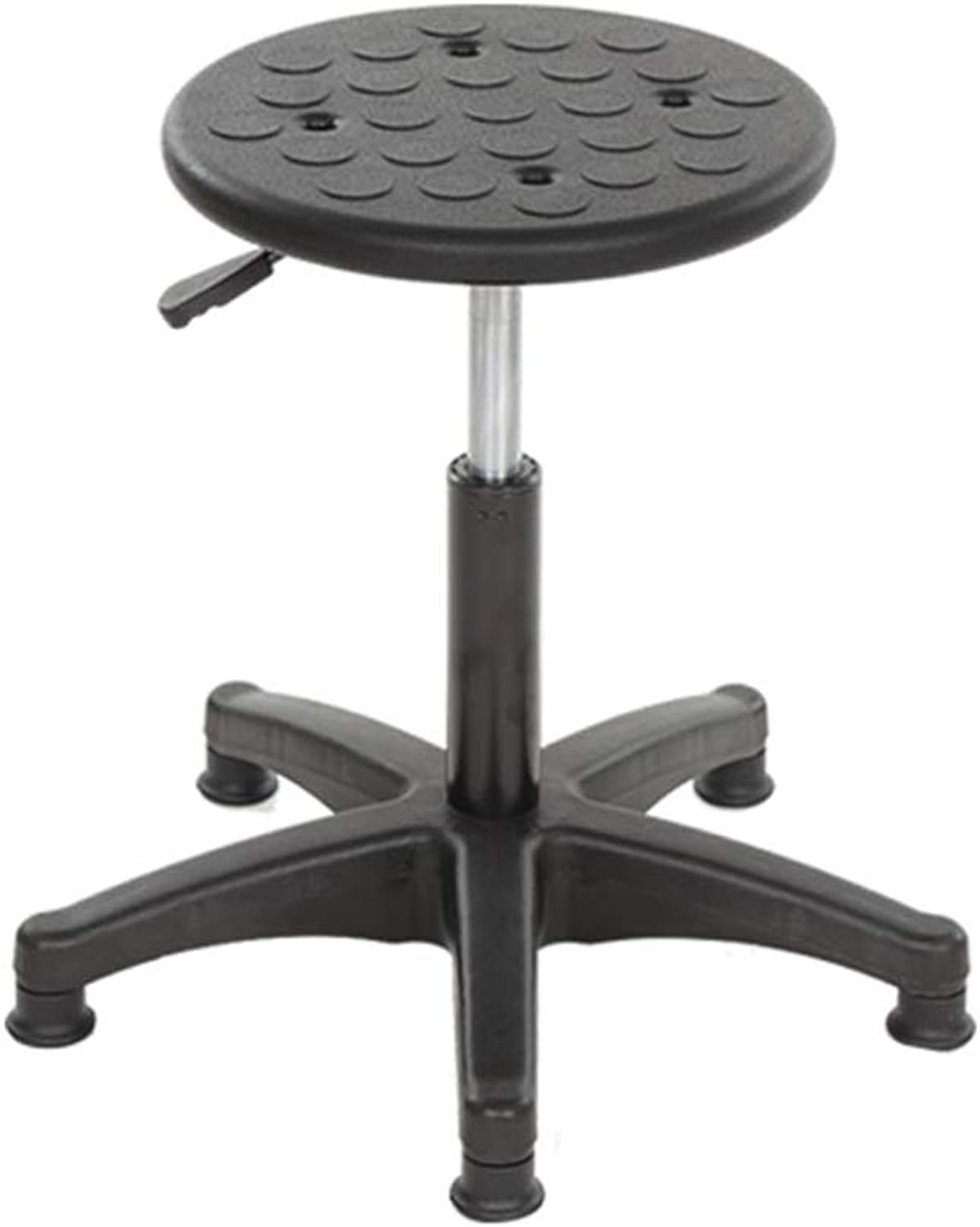 ZHAOYONGLI Stool Footstool Laboratory Anti-Static Lifting Work Roumd Stool Bar Chair Factory Workshop Assembly Pulley Stool Creative Solid Durable Long Lasting (color   Foot Cup)