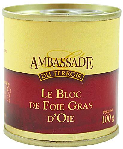 Bloc de Foie Gras d'Oie - 100 gr