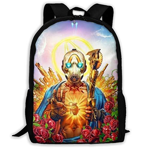 Mochila de Viaje para Adultos AOOEDM Backpack NoMan 'sLand Golden, Compatible con...