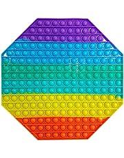 TATUNER Push Bubble Sensory Fidget Toy Pack per Adulti Bambini, Spremere Giocattoli A Bolle di Divertenti Giocattoli Antistress, Divertente Passa Tempo