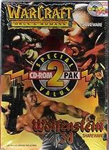 Warcraft Orcs & Humans / Wolfenstein 3D (SHAREWARE)