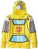 Transformers Boy's 2-7 Tranformers Bumblebee Costume Hoodie, Yellow, 4T