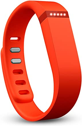 Fitbit Flex Wireless Activity Plus Sleep Wristband, Tangerine
