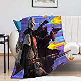 Manta infantil Star Wars The Child Mandalorian Season 2 Kids Baby Yoda Manta para sofá cama silla (80 x 100 cm)