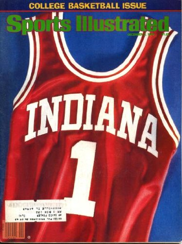 Sports Illustrated December 3 1979 Indiana University/Hoosiers #1 Jersey on Cover, College Basketball Issue, Rookie Larry Bird/Boston Celtics, Billy Sims/Oklahoma Sooners, Houston Oilers, Nancy Lieberman/Old Dominion