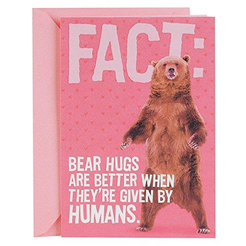Hallmark Valentine's Day Greeting Card for Kids (Standing Bear)