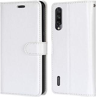 Laybomo Carcasa para Xiaomi Mi CC9e / Mi A3 Tapa Funda Cuero Estilo-Sencillo Monederos Billetera Bolsa Magnética Protector...