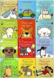 That's Not My Toddlers 12 Books Collection Set Pack Fiona Watt (Touchy-Feely Board Books)