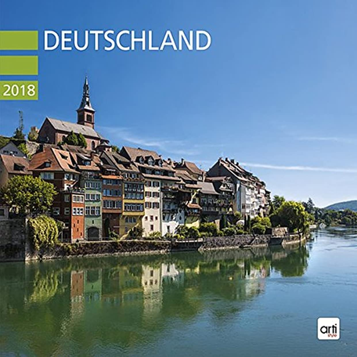 そこからミネラル置き場Deutschland 2018 - Broschurkalender: Jahreskalender