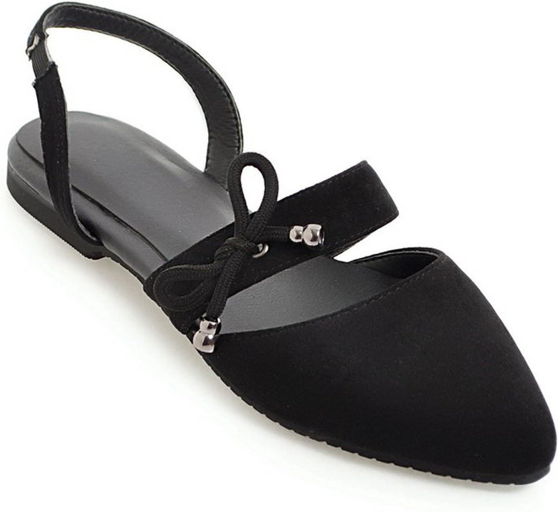 BalaMasa Womens Sandals Closed-Toe No-Closure Not_Water_Resistant Huarache Urethane Sandals ASL04712