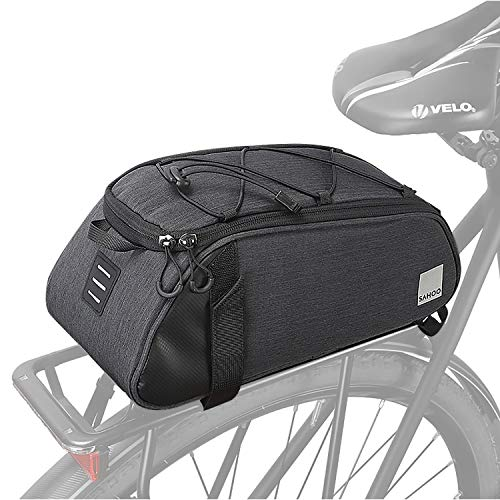 Great factory Bike Bag Bike Trunk Bag Rack Bags Rear Panniers Bag 7L(for Bicycle Cargo Rack Saddle Bag Shoulder Bag Laptop Pannier Rack Bicycle Bag Professional Cycling Accessories)
