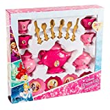 UPD Jakks-Disney Princess 26Pc Dinnerware Set, Multicolor (99021)