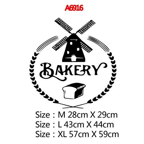 New 2020 Bakery Kitchen muursticker Gepersonaliseerd creatief interieur Wanddecoratie Behang voor keukenstickers, Style4, maat L.