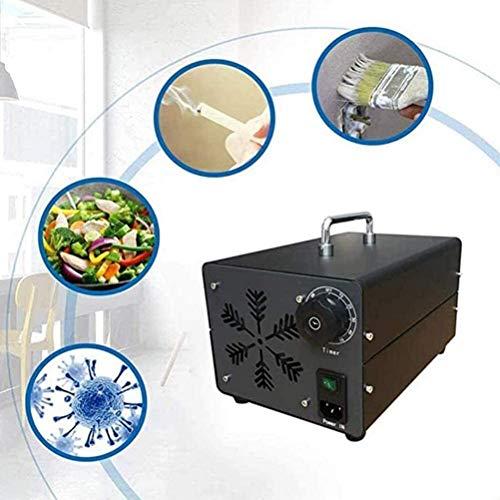 MGWA Purificador de Aire Generador De Ozono 5000mg Industrial Ozono O3 Máquina Comercial Generador De Ozono For El Hogar, Oficina, Barco Y Coche