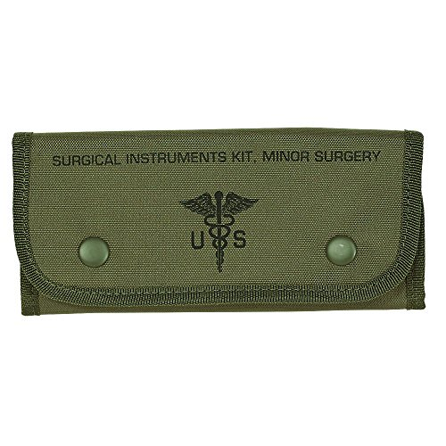 VooDoo Tactical Men's Empty Surgical Kit Pouch, Olive Drab