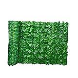 Yoyakie Artificial Pantalla Valla De Privacidad, Verde De La Hoja Artificial del Seto por Cerca De Privacidad Patio, Paredes Vegetación, Inicio Decoraciones del Jardín del Patio Trasero 0.5x1m