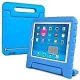 Cooper Dynamo [Funda Resistente para niños] Protección para iPad 4, iPad 3, iPad 2 Funda Protectora, (Azul)