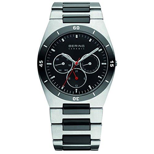 Bering Ceramic Stahl 32341-742 Herrenuhr Safirglas ceramic steel watch