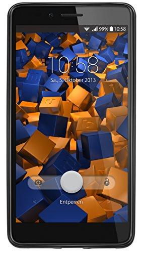 mumbi Hülle kompatibel mit Honor 5X Handy Case Handyhülle, schwarz - 6