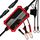 Foval 750mA Automatic Trickle Battery Charger 12V 0.75Amp Smart Battery Charger...