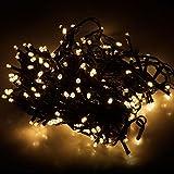 Multistore 2002 LED Lichterkette mit 320 LEDs Warmweiß...