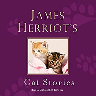 James Herriot's Cat Stories audiobook cover art