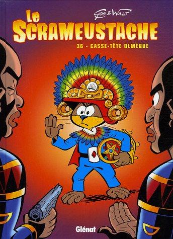 Le Scrameustache - Tome 36: Casse-tête Olmèque