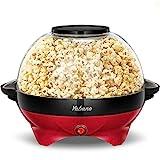 Best Popcorn Poppers - Popcorn Machine, 6-Quart Popcorn Popper maker, Nonstick Plate Review