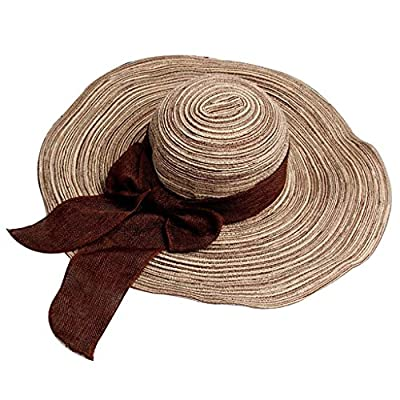 Generic Women's Sun Hat - E_55001352, Brown, Free Size