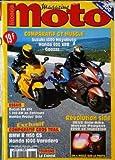 MAGAZINE MOTO MONDE [No 78] du 01/09/1999 - COMPARATIF GT MUSCLE : SUZUKI 1300 HAYABUSA. HONDA 800 VFR. ESSAIS : DUCATI...