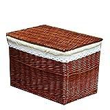 GYMEIJYG Maleta Vintage, con Cubierta Rota Alta Capacidad Rectángulo Se Utiliza para Utensilios De Cocina, Ropa...