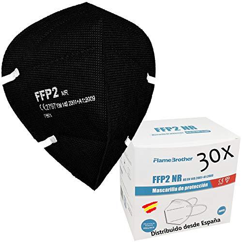 flame brother CE 2797 zertifizierte FFP2-Masken, 30 Einheiten, 5 Schutzschichten. 8 STUNDEN EXTRA HOCH…