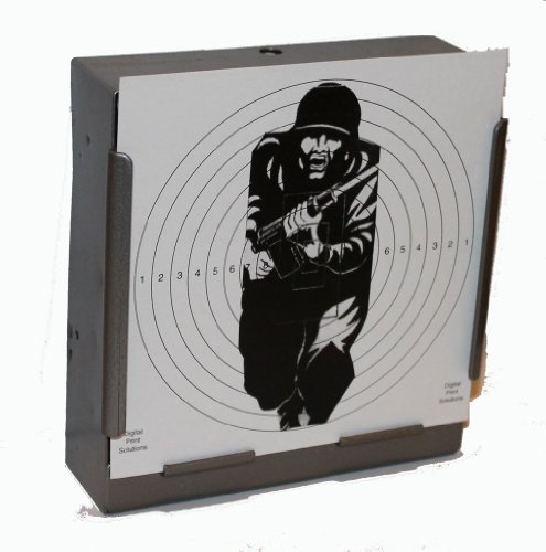 CL Print Solutions 100 x 14cm Military Figure 11 Shooting Paper Targets Air Rifle Pistol (100gsm 14cm3