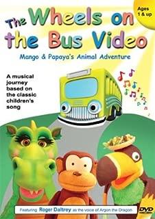 The Wheels on the Bus Video - Mango and Papaya's Animal Adventure