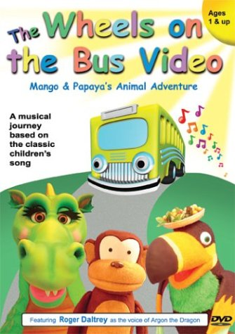 Wheels on the Bus: Mango & Papaya's Animal Adventu [DVD] [Import]
