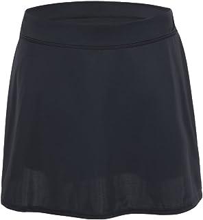تنورة السباحة للنساء من Hilor تنورة عالية الخصر بيكيني أسفل ملابس السباحة Skort مع موجز