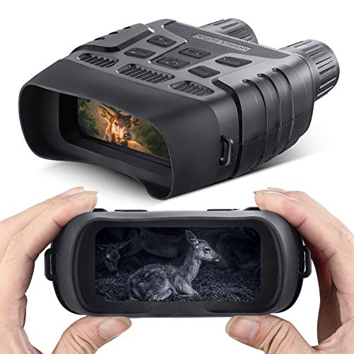 Visore Notturno Digitale Binoculare 7x31mm 2.31' TFT LCD e 32GB TF Carta, Ingrandimento 3X, Foto Telecamera Video Registratore Telescope Camping Outdoor Equipme